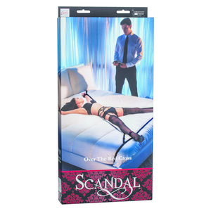 Scandal Over the Bed Cross Black