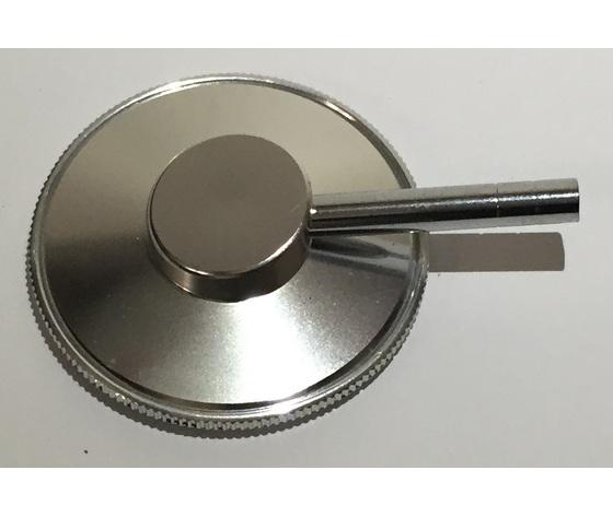 Testina piatta completa di membrana per fonendoscopio