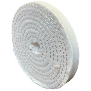 Disco abrasivo in cotone per lucidatura metalli e acciaio