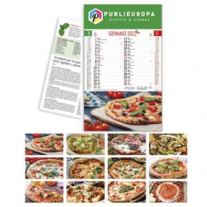 CALENDARIO ILLUSTRATO - PIZZA