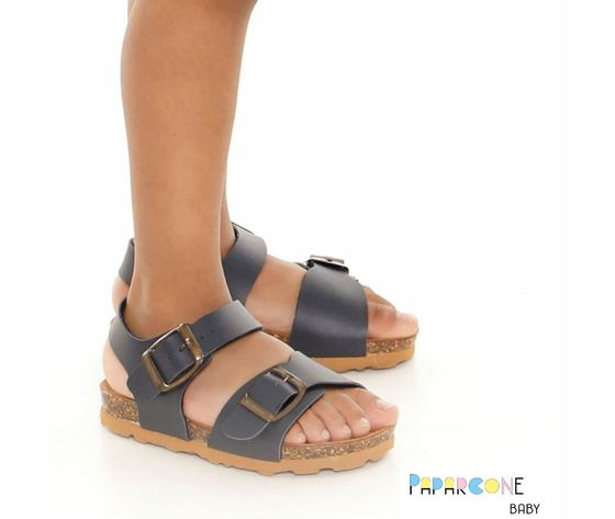 Sandali fibbie modello birk bambino sandali fibbie modello birk bambino   37 1
