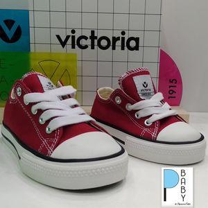 Sneakers Victoria rossa