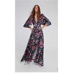 Wrap Dress Garden Aniyeby