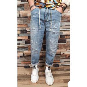 bl011 jeans con strappi