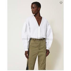 Twinset camicia con borchie