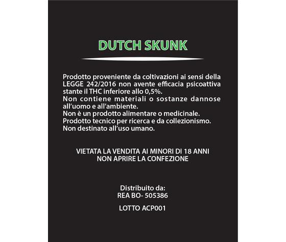 Dutch skunk 3
