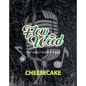 FLOW WEED CHEESE CAKE