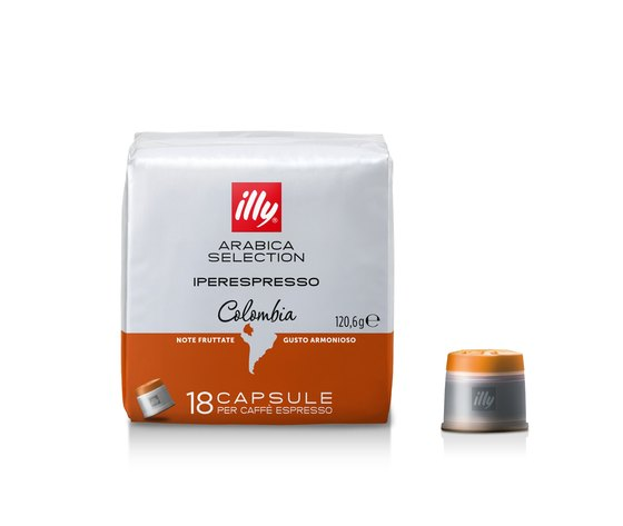 Illy iperespresso arabica selection colombia ci ie ac