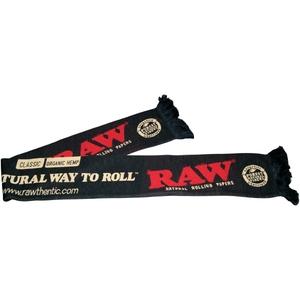 RAW SCARF BLACK