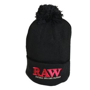 RAW WINTER HAT BLACK e BLAK/BROWN