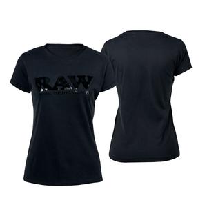 RAW GIRL SHIRT BLACK/BLACK