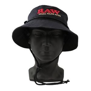 RAW SMOKERMAN HAT BLACK