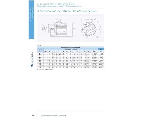 Mr132 t b14  mr132 t b14 4p11.0ie1 2