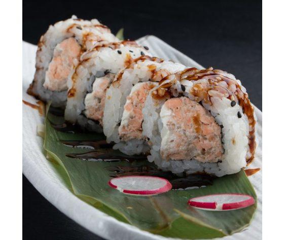 Salmone cotto rolls