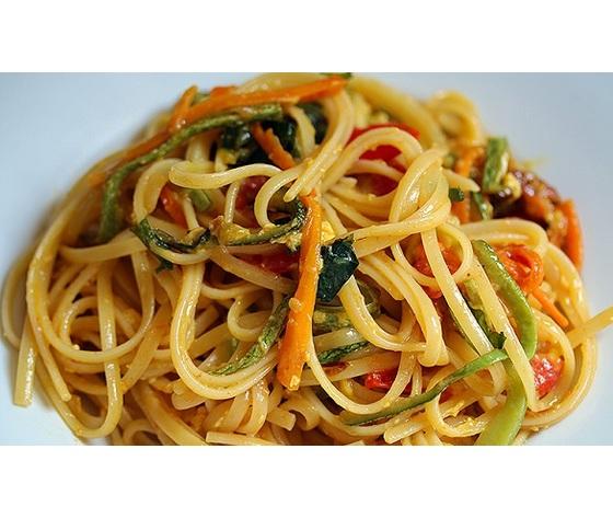 Linguine verdure croccanti1