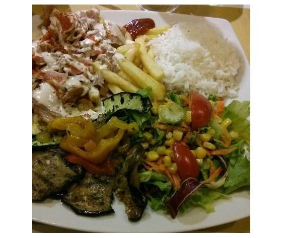 Kebab verdure e riso