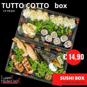 SUSHI BOX TUTTO COTTO