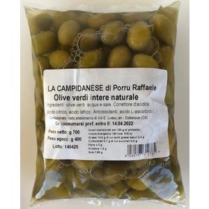 Olive verdi naturali