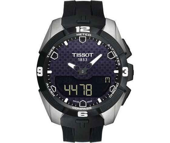 Orologio multifunzione uomo tissot t touch expert solar t0914204705100 414141 zoom