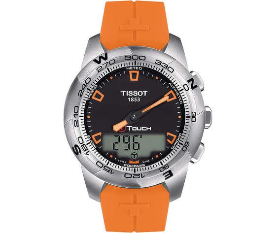 Orologio cronografo uomo tissot t touch ii stainless steel t0474201705101 413446