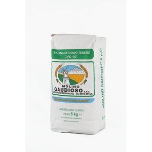 """Farina di grano tenero tipo """"00"""" kg 5"""