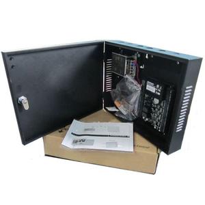 Centrale Controllo Accessi fino a 2 varchi con box e batteria