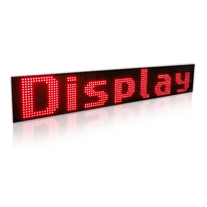 Display a led RGB 8
