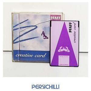 "Scheda ricamo  Pfafff ""Creative Card"""