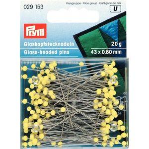 Spilli testa in vetro Prym 029153