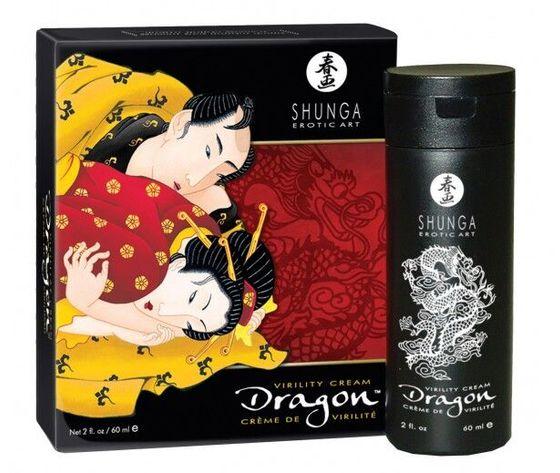 Crema dragon shunga per uomo