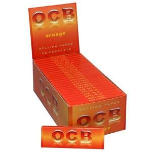 Cartine Ocb corta orange 50 pezzi