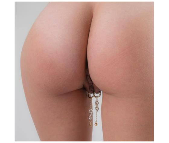 Gioiello vaginale argento pa62 1