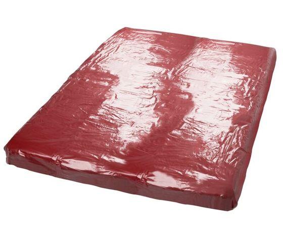 Lenzuolo laccato rosso scuro 250422 1