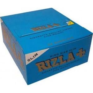 Cartine Rizla blu slim lunghe 50 pezzi