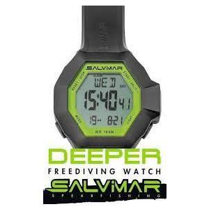 SALVIMAR DEEPER GREEN CAMU orologio con profondimetro