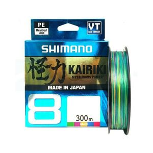 SHIMANO KAIRIKI 8 mt 3000 0,42mm multicolor