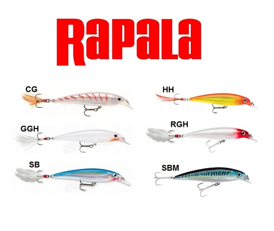Rapala x rap xr 4 4cm 2gr 0 60 0 90mt extra big 6687