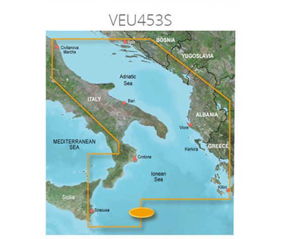 Carta garmin bluechart g3 hd vision small mare adriatico sud 77713 zoom
