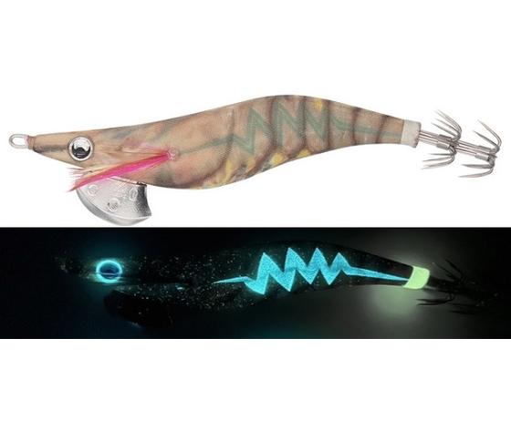 0140337 gc015 glow tiger prawn