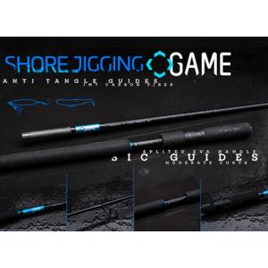 GAME SHORE JIGGING RODS 9' 25-100gr