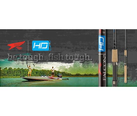 Grafica falcon bassstore hd spinning saltwater bass spigola barracuda canna