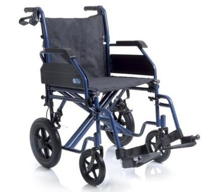 Carrozzina pieghevole disabili cp520