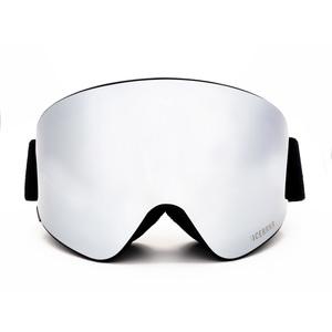 Maschera Sci-Snowboard Bluetooth 5.0 ICEBRKR Black – Silver Mirror