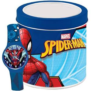 MARVEL KID WATCH Mod. SPIDERMAN - Tin box