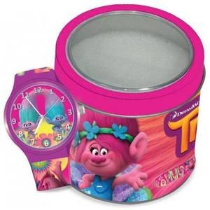 WALT DISNEY KID WATCH Mod. TROLLS - Tin Box