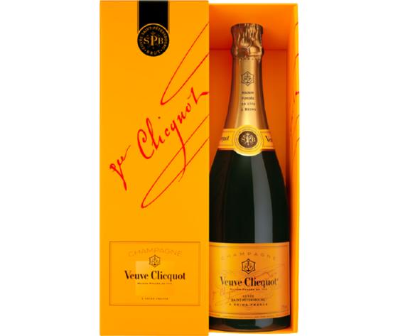 Ch034.champagne veuve cliquot spb 75 ast