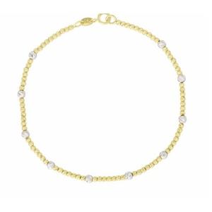 COPY OF bracciale oro palline diamantate