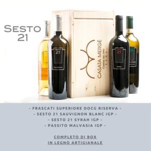 """Box 6 Bottiglie """"Autentico"""""""