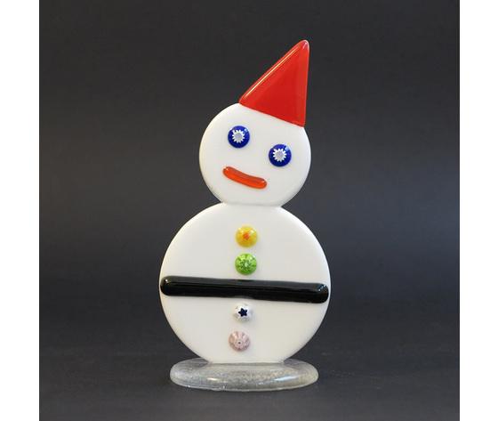 Pupazzo di neve cappellino