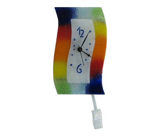Orologio vetro extro macchie arlecchino